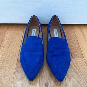 Royal Blue Steve Madden Flats